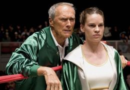 Million Dollar Baby - Clint Eastwood und Hilary Swank
