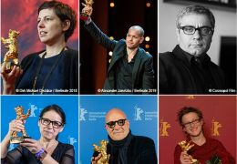 Berlinale Wettbewerbsjury 2021 mit Adina Pintilie,...nyedi