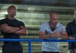 Fast and Furious - Dwayne Johnson, Vin Diesel und...Walker