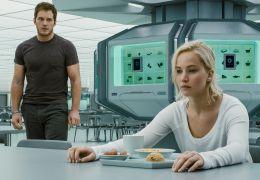 Passengers - Aurora (Jennifer Lawrence) und Jim...ratt)