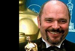 Anthony Minghella mit seinem Oscar für 'Der englische...1997)