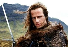 Christopher Lambert in 'Highlander' (1986)