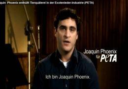 Joaquin Phoenix enthüllt Wahrheit über Exotenleder